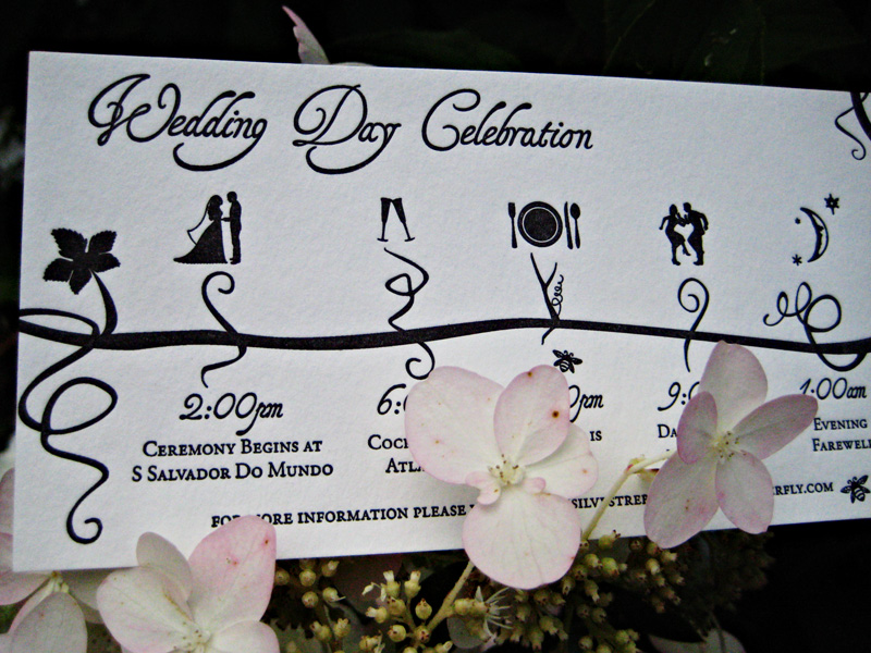 wedding invitation timeline. cute drawing of bride and groomu0027s, Wedding invitations