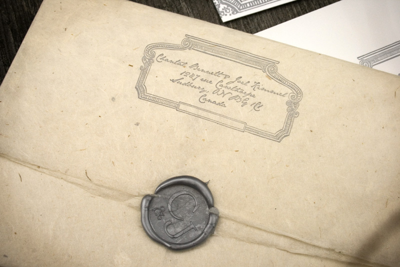 Wax Seals For Wedding Invitations: The Illustrated Press